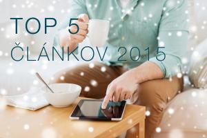 TOP 5 článkov 2015